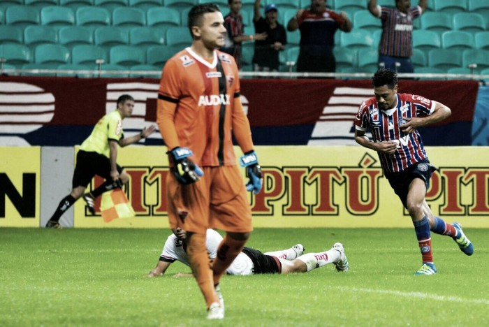 Lomba defende pênalti e Bahia volta a vencer na Série B diante do Oeste