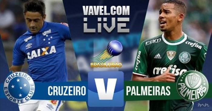 Resultado Cruzeiro 2-1 Palmeiras no Brasileirão 2016