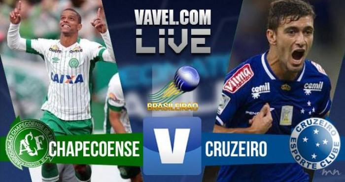 Resultado Chapecoense x Cruzeiro no Brasileirão Série A 2016 (3-2)