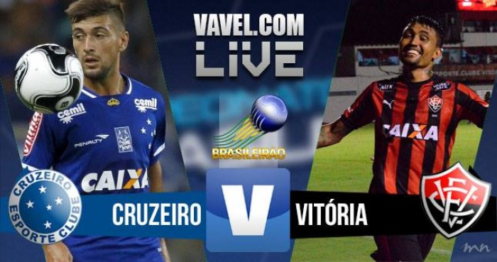 Jogo Cruzeiro x Vitória no Brasileirão Série A 2016