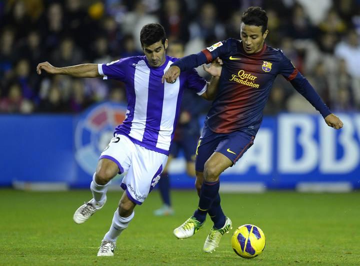 Real Valladolid 1-3 FC Barcelona: puntuaciones del Real Valladolid, jornada 17