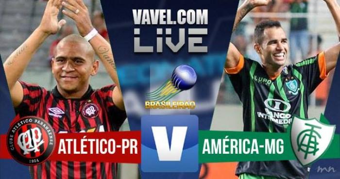 Resultado Atlético-PR X América-MG pelo Campeonato Brasileiro 2016 (1-0)