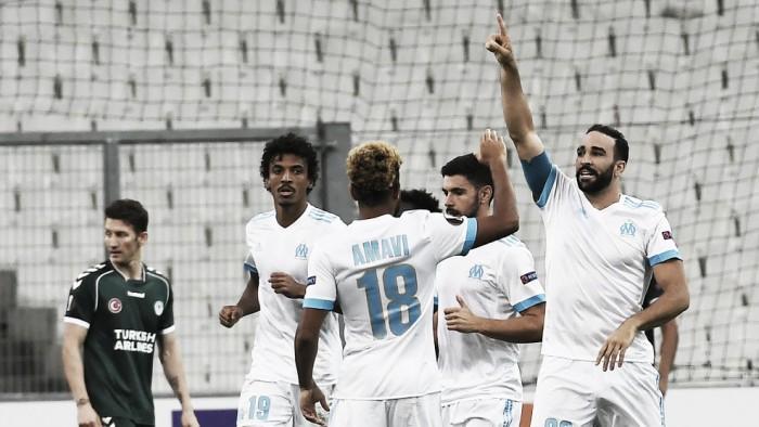 Gol solitário de Rami garante vitória do Olympique de Marseille diante doKonyaspor
