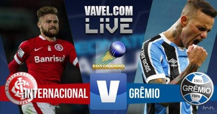 Resultado Grêmio x Inter pelo Campeonato Brasileiro (0-0)
