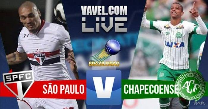 Resultado São Paulo x Chapecoense pelo Campeonato Brasileiro (2-2)