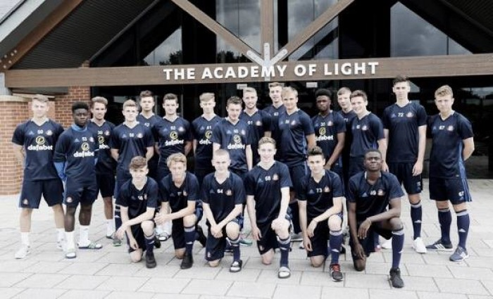 Sunderland welcome nine new youth team players to the Academy of Light