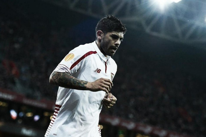 Banega joins Inter on a three-year-deal from Sevilla
