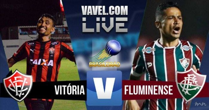 Resultado Fluminense x Vitória no Campeonato Brasileiro (2-2)