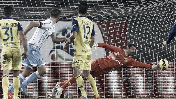 Live Lazio - Chievo in risultato partita Serie A (1-1)