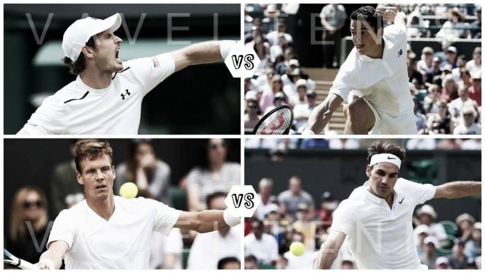 Wimbledon: Semifinal