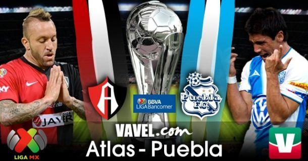 Resultado Atlas - Puebla en Liga MX 2014 (0-0)