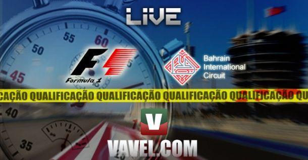 Qualificação GP Bahrain 2014 em F1, directo