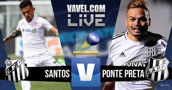 Santos vence a Ponte Preta no Brasileirão (3-1)
