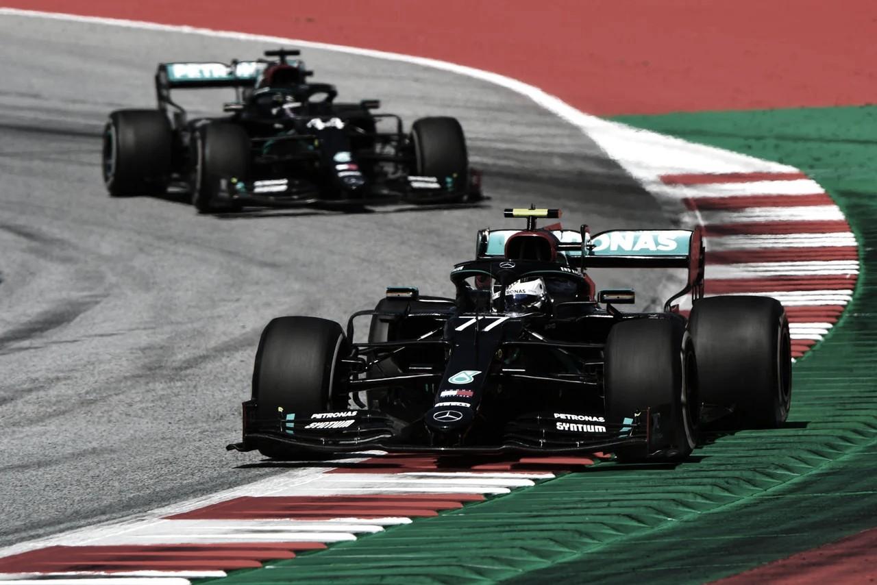 Bottas y Hamilton Dominan en España