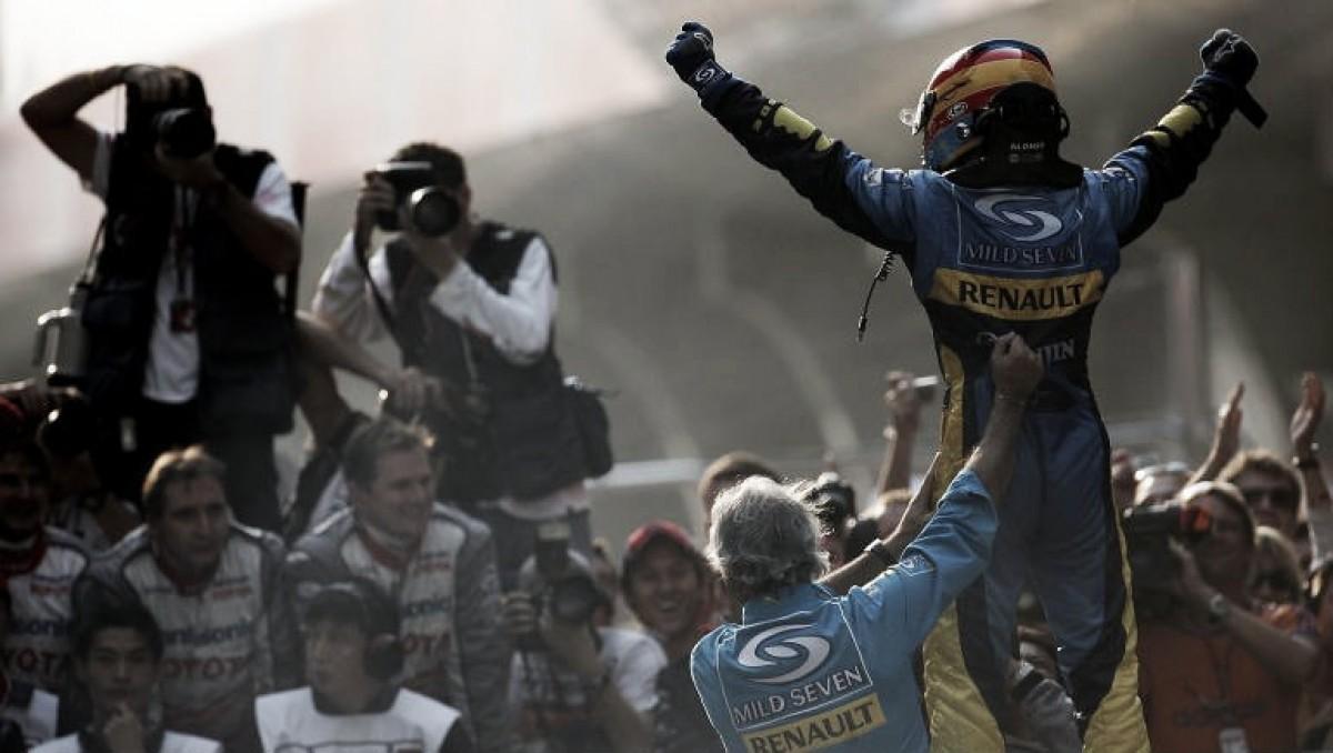 Fernando Alonso cumple 300 Grandes Premios en Fórmula 1