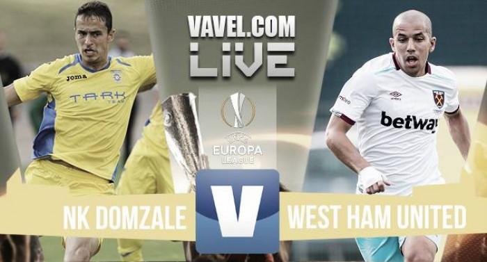 NK Domazle 2-1 West Ham United: As it happened