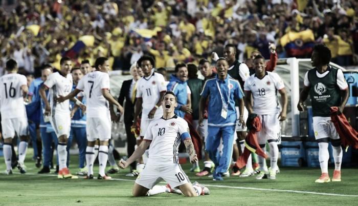 Colombia - Paraguay: juego intenso, victoria cafetera y clasificación a cuartos de final