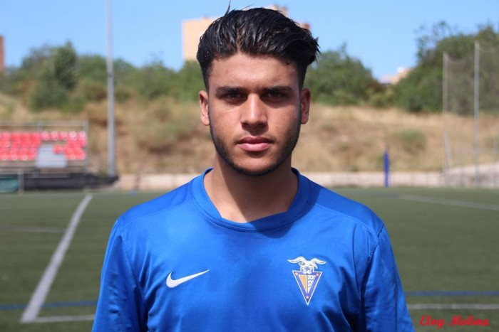 Mohamed Ezzarfani refuerza el C.F Badalona