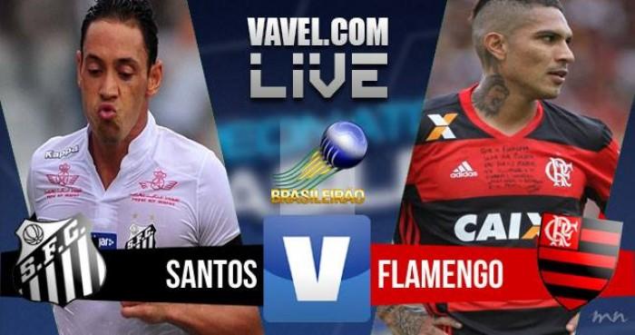 Santos e Flamengo empatam sem gols no Campeonato Brasileiro (0-0)