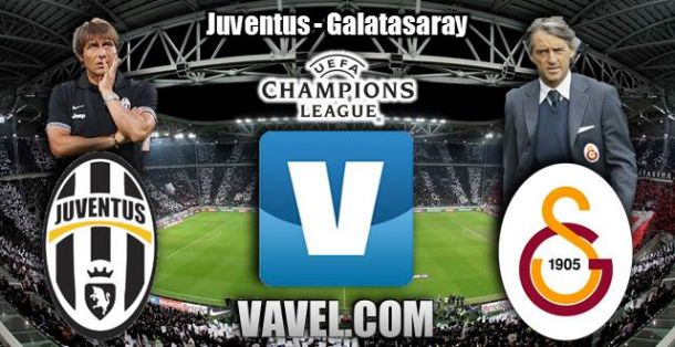 Resultado Juventus vs Galatasaray en Champions League 2014 (2-2)