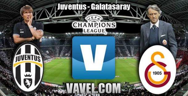 Resultado Juventus - Galatasaray en Champions League 2014 (2-2)