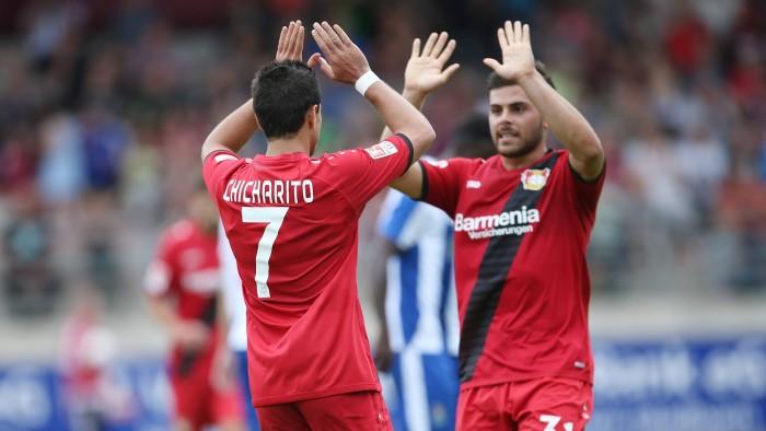 """Leverkusen, Chicharito: """"Spero che Kiessling torni presto. Abbiamo voglia di fare meglio"""""""