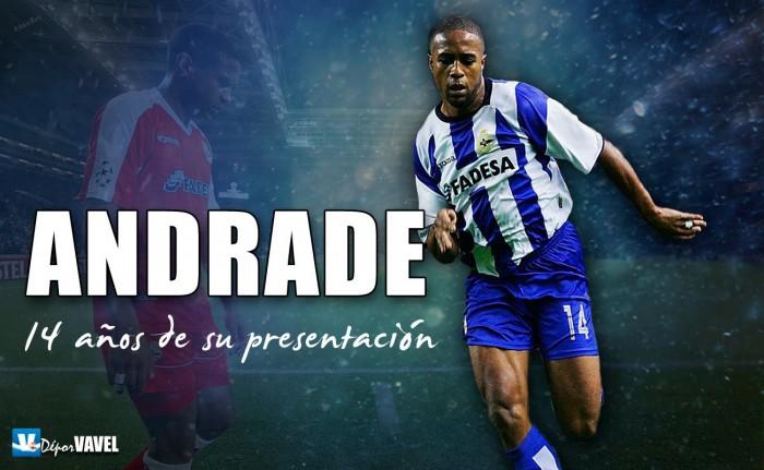 Catorce años de la presentación de Jorge Andrade
