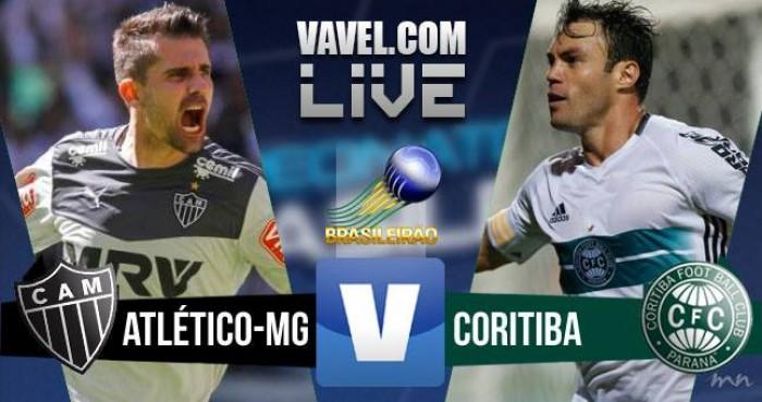Resultado Atlético-MG X Coritiba pelo Campeonato Brasileiro 2016 (2-1)
