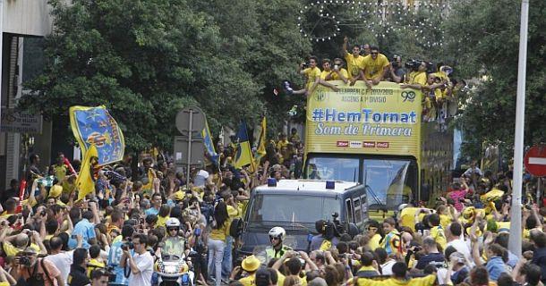 Villarreal 2013: el capitán Marcelino llevó al submarino a su destino: 1ª División