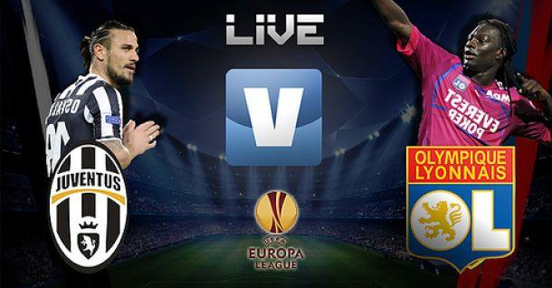 Juventus x Olympique Lyon, Liga Europa