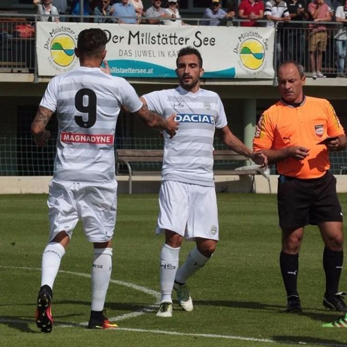 Udinese - La partenza è buona, ma la forma fisica deve ancora arrivare, è 2-2 con il Krasnodar