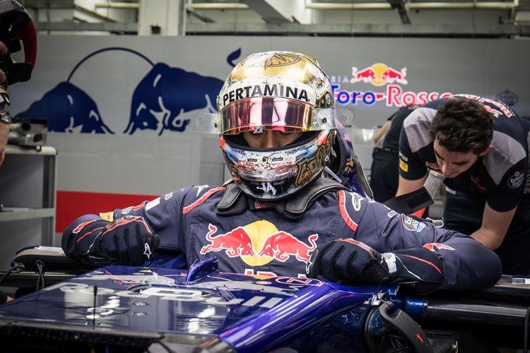 Sean Gelael Akan Turun Di FP1 Bersama Toro Rosso