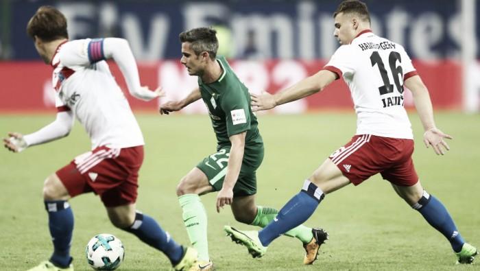 Hamburgo e Werder Bremen fazem jogo disputado, mas empatam sem gols no Nordderby