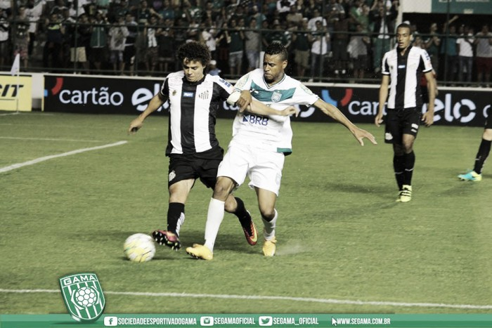 Focado no Brasileiro, Santos enfrenta Gama em busca de vaga nas oitavas