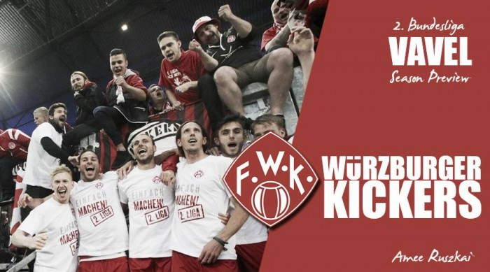 Würzburger Kickers - 2. Bundesliga 2016-17 season preview: Will der Rothosen's momentum be enough to keep their fairytale going?