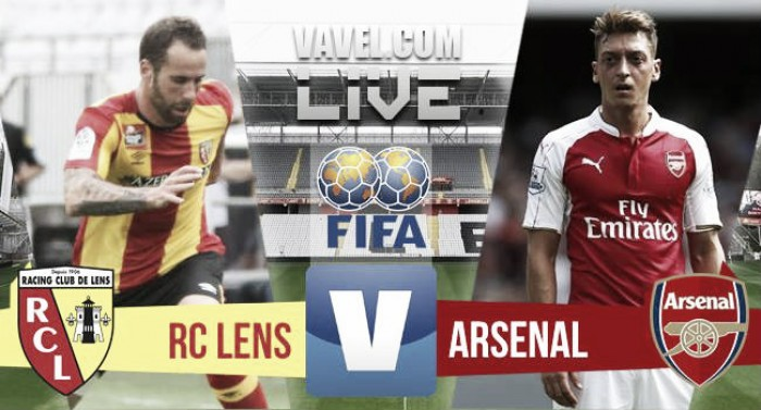 Arsenal open pre-season with a 1-1 draw against RC Lens