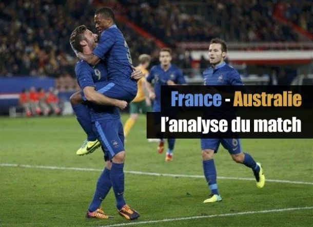 France - Australie, l'analyse du match