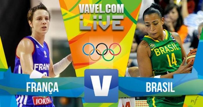 Jogo França x Brasil no basquete feminino dos Jogos Olímpicos