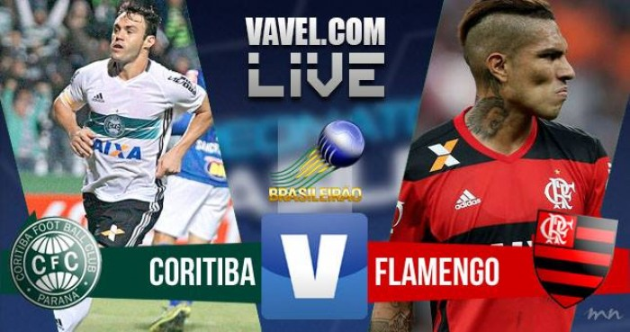 Resultado Coritiba x Flamengo no Campeonato Brasileiro 2016 (0-2)