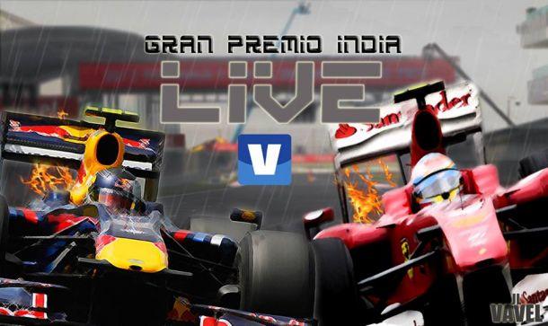 Carrera del GP de la India de Fórmula 1 2013, así lo vivimos