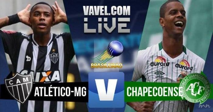 Resultado Atlético-MG 3-1 ChapecoensenoCampeonato Brasileiro 2016