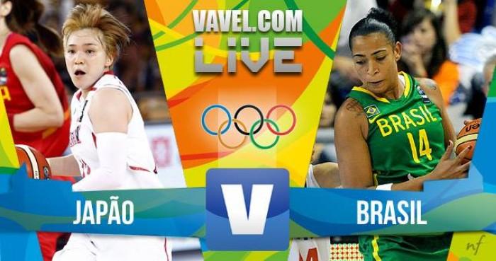 Japão x Brasil no basquete feminino dos Jogos Olímpicos
