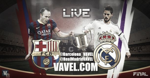 Barcelona vs Real Madrid, Final Copa del Rey 2014 en vivo online
