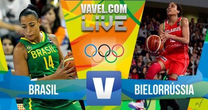 Brasil x Belarus na partida basquete feminino dos Jogos Olímpicos