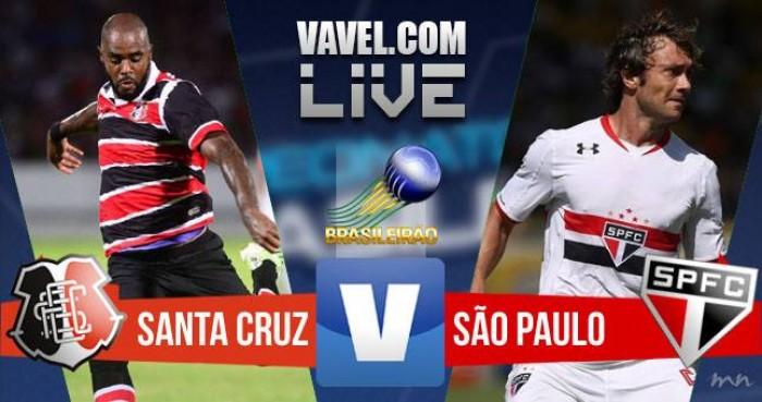 Santa Cruz x São Paulo no Campeonato Brasileiro 2016 (1-2)
