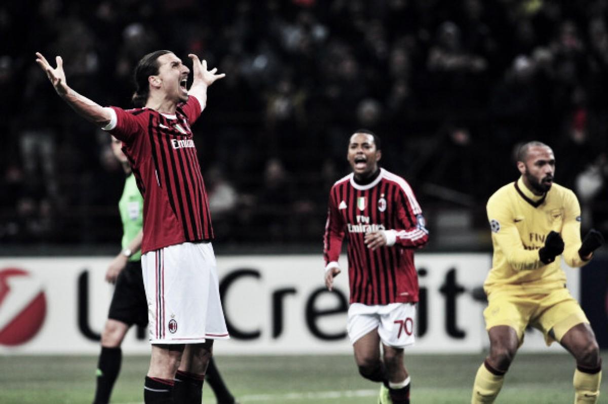 Show da dupla Ibra-Robinho e quase remontada: dois grandes jogos entre Milan e Arsenal