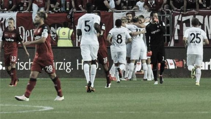 1. FC Kaiserslautern 0-4 Hannover 96: Die Roten open the new 2. Bundesliga season in style