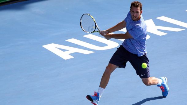 ATP Auckland - Mannarino rate sa chance