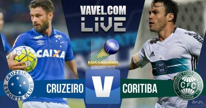 Resultado Cruzeiro x Coritiba no Campeonato Brasileiro 2016 (2-2)