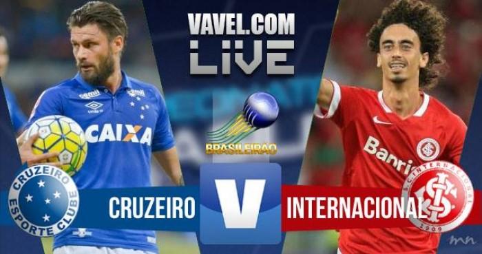 Resultado Cruzeiro 4x2 Inter pelo Campeonato Brasileiro